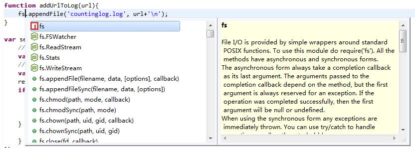 Nodeclipse, Enide -- Node JS development in Eclipse
